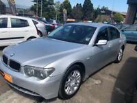 BMW 7 SERIES 3.0 730D SE 4d AUTO 215 BHP (silver) 2003