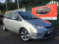 2010 10 Ford C-Max 1.8 TDCi Zetec 5dr Turbo Diesel 5 Speed Manual! Low Miles!
