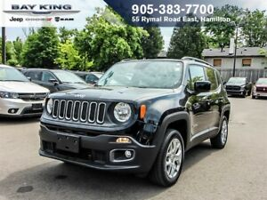 2016 Jeep Renegade NORTH 4X4, BACKUP CAM, REMOTE START, HEATED S