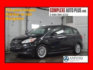 2013 Ford C-Max Hybride SEL *Navi/GPS,Cuir,Toit pano.