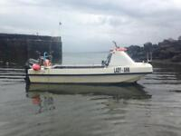 Dory 5.5 meter fishing boat
