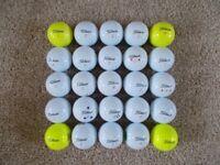 25 x TITLEIST DT TruSoft Golf Balls - Grade A, lovely condition!