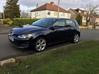 volkswagen golf 1.6 tdi blue motion 2015 plate