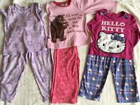 Girls pyjamas Ages 3-4 and 4/5
