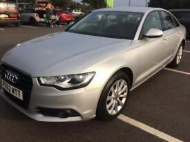 AUDI A6 2.0 TDI . FHS . SATNAV . LEATHER