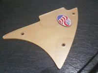 Genuine Rickenbacker Gold upper guitar pickguard