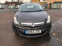 Vauxhall Corsa 1.2 2014 low Milage cheap insurance