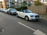 Extremely low mileage audi tt roadster convertible