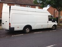 ford transit t350 high top lwb 2.4 td 2001
