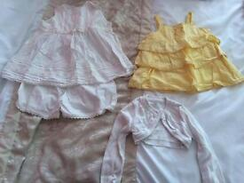 Baby girls clothes age 9 to 12 months