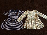 4 x girls dresses M&S/next/carters, age 4/5