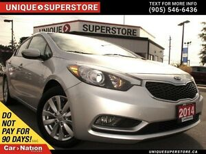 2014 Kia Forte LX| HEATED SEATS| REMOTE START| OPEN SUNDAYS|