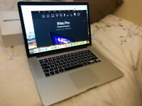 MACBOOK PRO RETINA 15 QUAD CORE i7 3.2GHZ SSD SIERRA SIRI BLUTOOTH WEBCAM OFFICE16 USB 3/HDMI BOXED