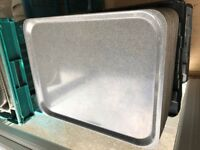 50 USED Commercial Catering Plastic Trays, Cafe Trays, Restaurant Trays - CAMBRO