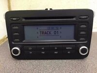 vw cd player stereo