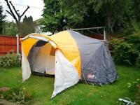 New Coleman Cortes 6+ Tent