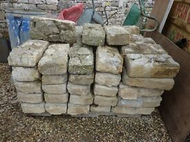 76 Davy blocks palletted and ready for collection