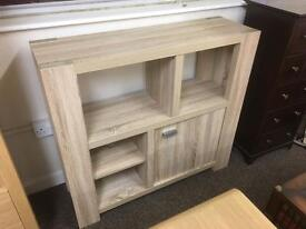 Limed oak book shelf / cabinet * free furniture delivery*