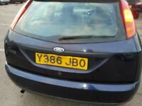 FORD FOCUS 1.6 ZETEC ALLOYS 3DR HATCHBACK