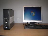 Dell optiplex 380 Dual-Core 2.60 x 2Ghz, 2gb ddr3, win7, MS Office , 17 LCD. full setup