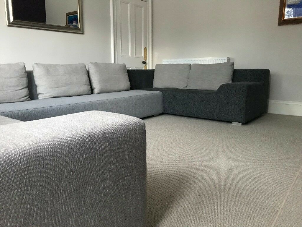 Stupendous U Shaped Sectional Sancal Sofa 3 Pieces Huge Too Big For Our Room In Morningside Edinburgh Gumtree Andrewgaddart Wooden Chair Designs For Living Room Andrewgaddartcom