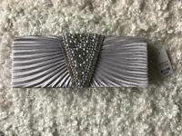 Clutch bag - silver - BNWT