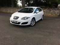 Seat Leon 1.6 S CR TDI ECOMOTIVE 2010 £0 car Tax per year