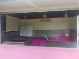 Unfinished food trailer