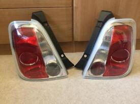 Fiat 500 2007-2015 Rear Lights