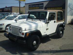 1998 Jeep TJ SE 4X4! RARE MANUAL! SERVICE RECORDS!