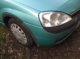 Vauxhall Crosa Hatchback 1.2 cc 5 doors .Starts first time.Good little runner.Green colour