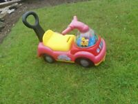 PicClick UK FISHER PRICE LITTLE people Ride On sit on fire Engine