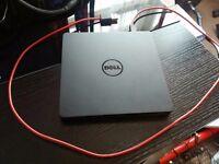 Dell DW514 SLIM External USB DVD-RW DVD Reader Writer Re-Writer Burner