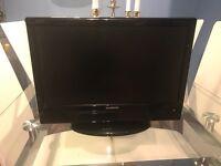 Flat Screen 16 inch TV & DVD Player