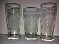 Set Of Three pint Glasses