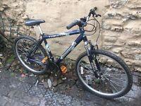Shockwave XT 580 gents mountain bike 18 gears 18 inch frame aluminium 26 inch wheels