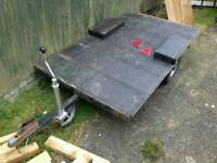 Trailer chassis Base project ideal box / bike trailer