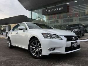2013 Lexus GS 350 1 Owner AWD Nav BUcam Lthr Btooth Sroof