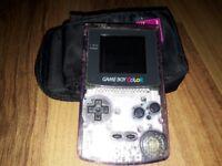 See through Gameboy Colour