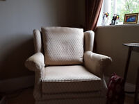 Wing Back Chairs.