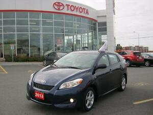 2013 Toyota Matrix Upgrade Package Featuring Toyota Extended War