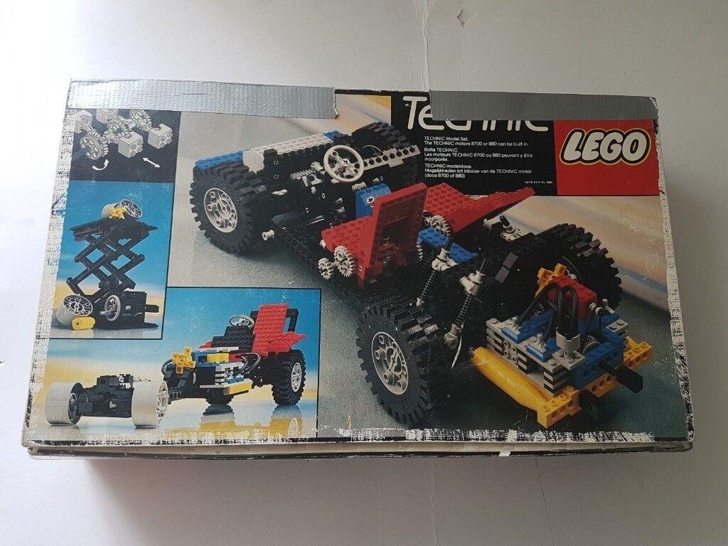 Vintage 80s Lego Technic 8860 Auto Incomplete In Bradford West