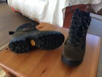 Ladies hiking boots.