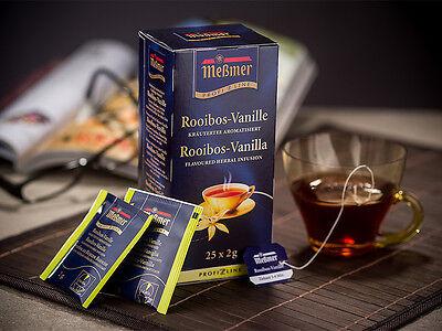 Meßmer ProfiLine Tee Rooibos-Vanille 25 Beutel a 2,0g Line-tee