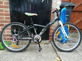 Kids BTWIN POPLY 6 speed, 24inch (8-12 years) bike - in very good condition
