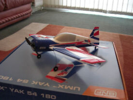 remote control planes: the champ and yak 54 180 and transmitter