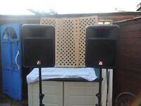 peavy impulse 200 speakers blackwidow drive