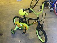 """Apollo Claws Kids' (Boys) Bike - 14"""""""