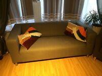 Klippan Sofa Ikea and armchairs