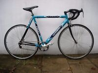 Mens Road Bike by Fausto Coppi, Single Speed Conversion, Turquoise, Great Condition, JUST SERVICED!!